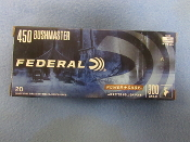 FEDERAL POWER SHOK 450 BUSHMASTER